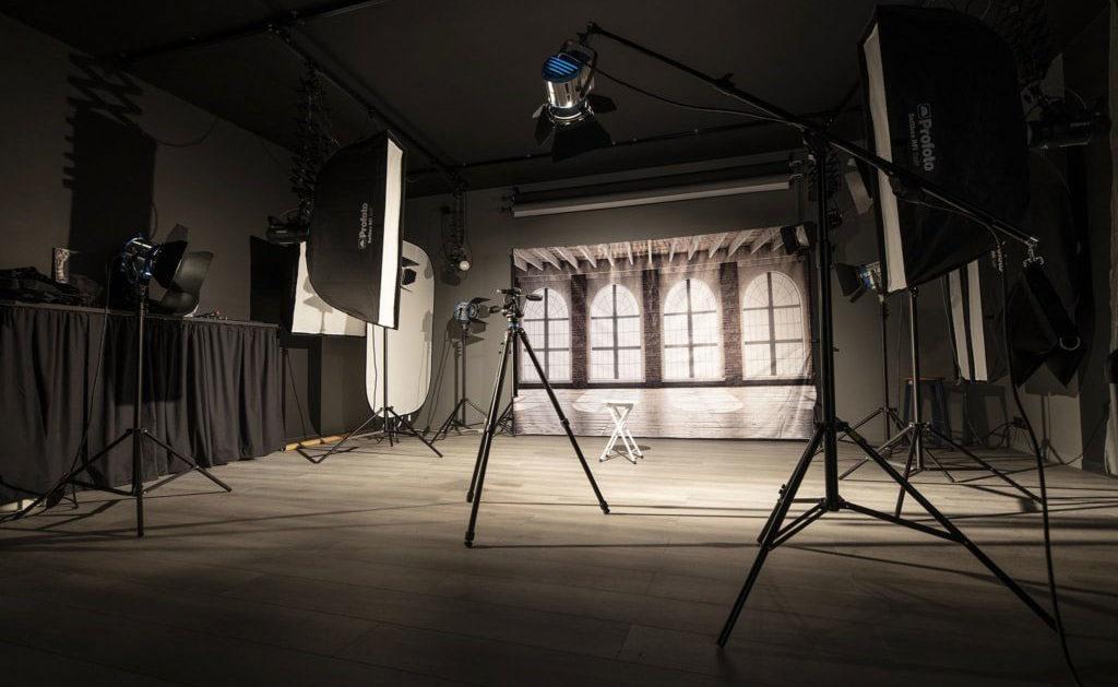 Le studio photographique